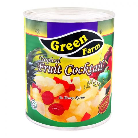 Green Farm Tropical Fruit Cocktail, In Heavy Syrup, 836g