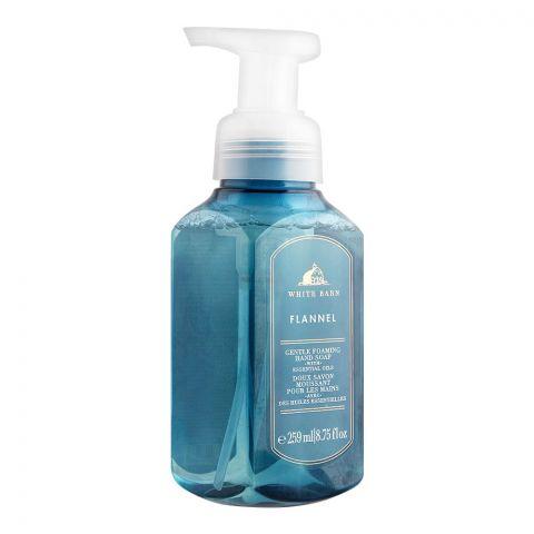 Bath & Body Works White Barn Flannel Gentle Foaming Hand Soap, 259ml