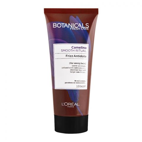 L'Oreal Paris Botanicals Fresh Care Camelina Smooth Ritual Frizz Antidote, For Unruly Hair, 100ml
