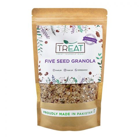 Treat Five Seed Granola, Sugar Free, 360g