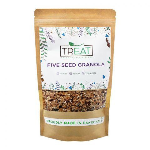 Treat Five Seed Granola, 360g