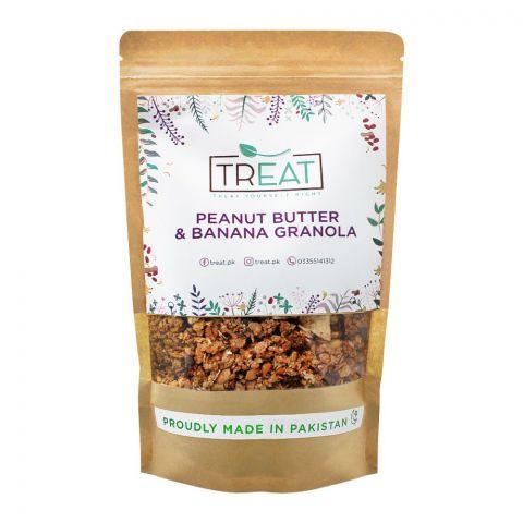 Treat Peanut Butter & Banana Granola, 360g