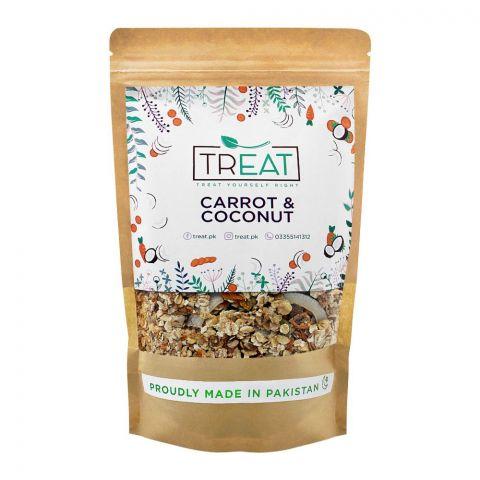 Treat Carrot & Coconut Granola, 360g