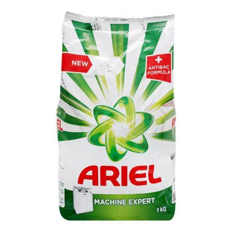 Ariel Anti-Bact Machine Expert Washing Powder, 1 KG
