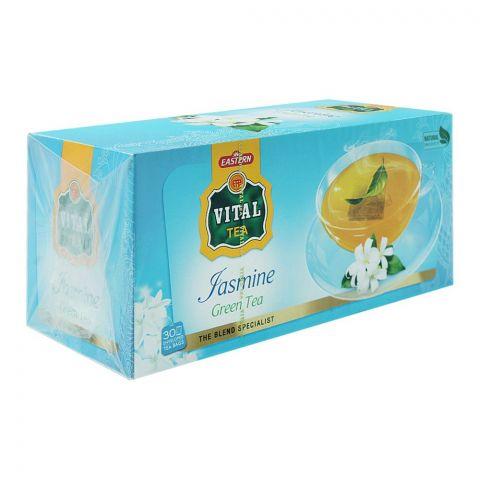 Vital Enveloped Jasmine Green Tea Bags, 30-Pack