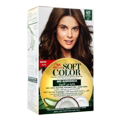 Wella Soft Color No Ammonia Hair Color, 60 Dark Blonde