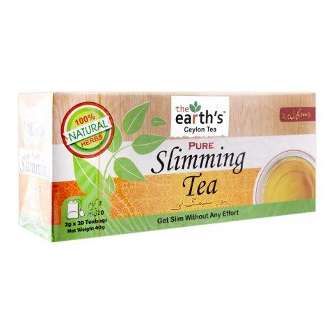 The Earth's Pure Slimming Tea, 20 Tea Bags