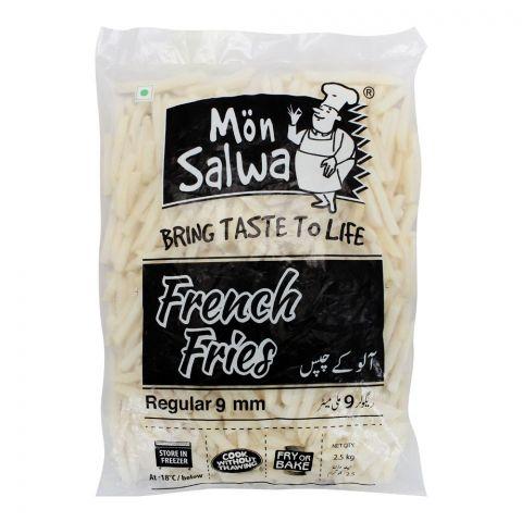 MonSalwa French Fries, Regular 9mm, 2.5 KG