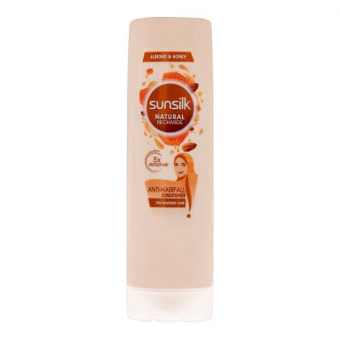 Sunsilk Natural Recharge Anti-Hairfall Almond & Honey Conditioner, 180ml