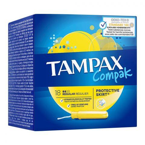 Tampax Compak Protective Skirt Tampons