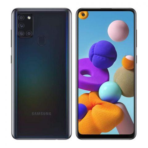 Samsung Galaxy A21S 4GB/128GB Black Smartphone, SM-A217F