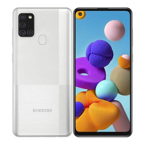 Samsung Galaxy A21S 4GB/128GB Silver Smartphone, SM-A217F