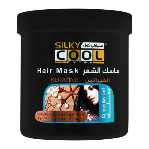 Silky Cool Extra Keratine Hair Mask, 1000ml
