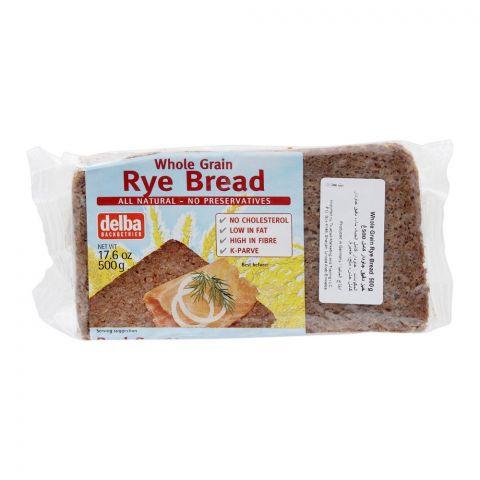 Delba Whole Grain Rye Bread, 500g