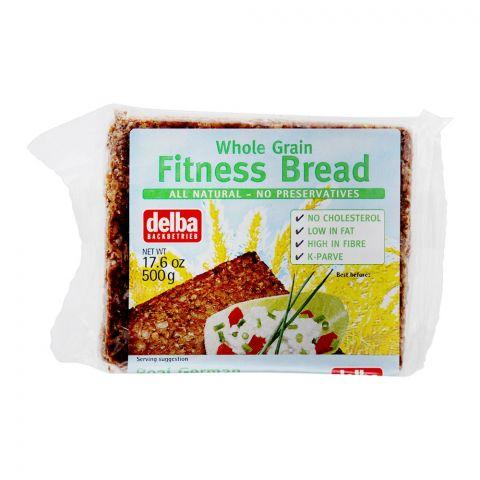 Delba Whole Grain Fitness Bread, 500g