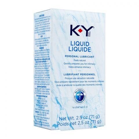 K-Y Liquid Personal Lubricant, 71g