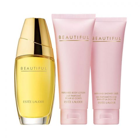 Estee Lauder Beautiful Set Eau De Parfum 100ml + Body Lotion 75ml + Shower Gel 75ml