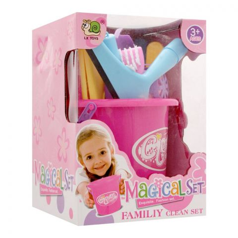 Live Long Magical Cleaning Set Box Packing, 556C