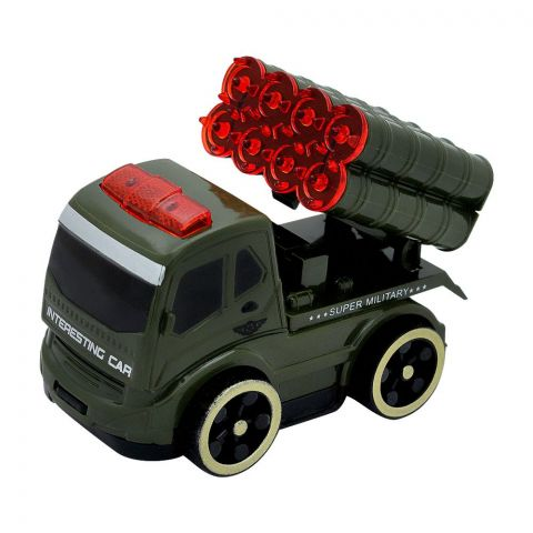 Live Long Military Friction Car Set, 65-12A