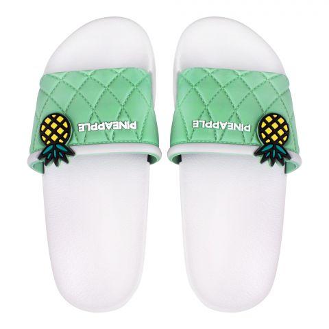 Kids Slippers, For Girls, H-2, Green