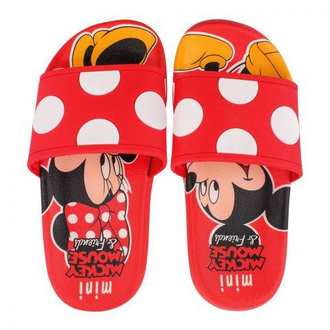 Kids Slippers, For Boys & Girls, H-3, Red
