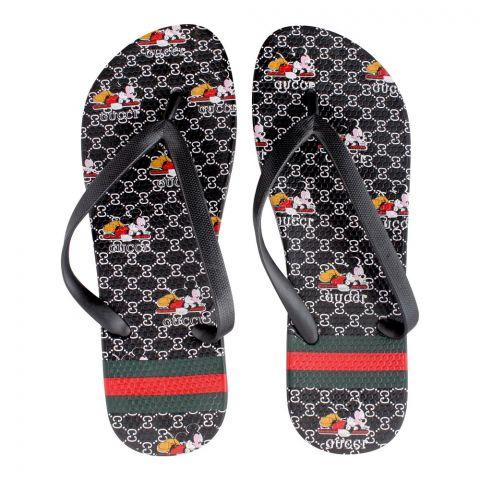 Women's Slippers, H-6, Black