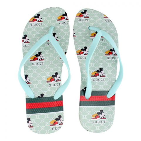 Women's Slippers, H-6, Green
