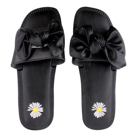 Women's Slippers, H-7, Black