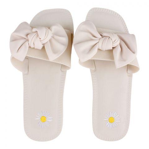 Women's Slippers, H-7, White