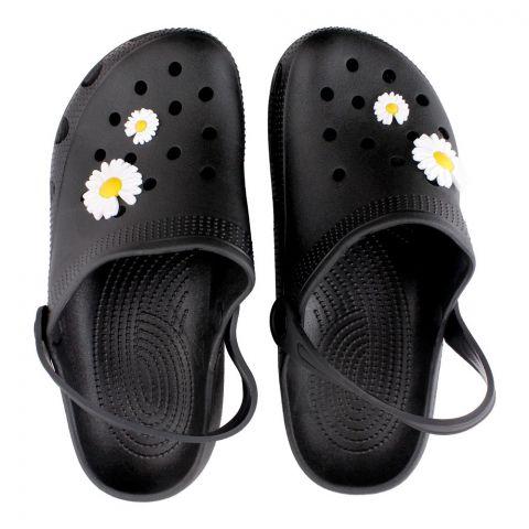 Women's Slippers, H-8, Black