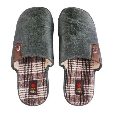 Women's Slippers, H-10, Green