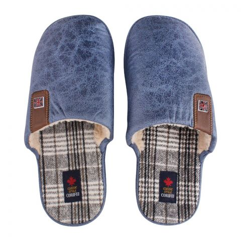 Women's Slippers, H-10, Blue