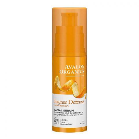 Avalon Organics Intense Defence Vitamin C Facial Serum, 30ml