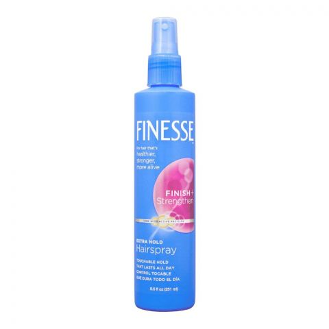 Finesse Finish+ Strengthen Extra Hold Hair Spray, 251ml