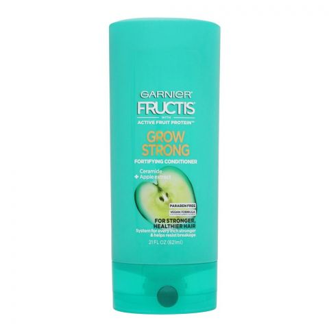 Garnier Fructis Grow Strong Fortifying Conditioner, Paraben Free, USA, 621ml