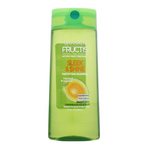 Garnier Fructis Sleek & Shine Fortifying Shampoo, Paraben Free, USA, 650ml