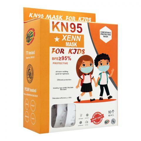 Xenn KN95 Protective Masks For Kids, 10-Pack