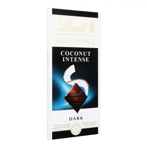 Lindt Excellence Coconut Intense Dark Chocolate, 100g
