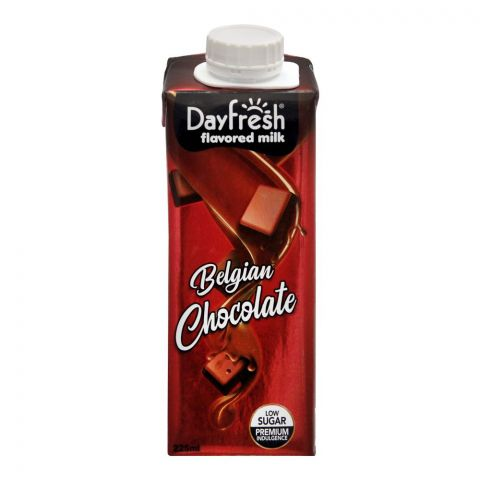 Day Fresh Belgian Chocolate Milk, 225ml
