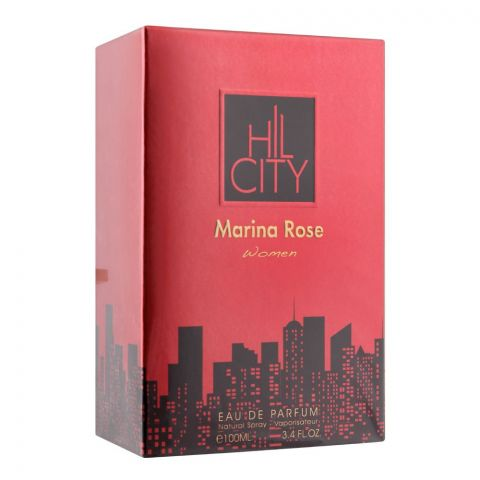 Hil City Marina Rose Women Eau De Parfum, Fragrance For Women, 100ml