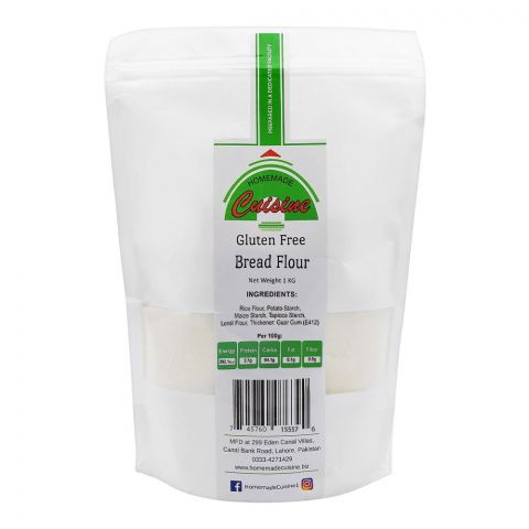 Home Made Cuisine Bread Flour, Gluten Free, 1 KG