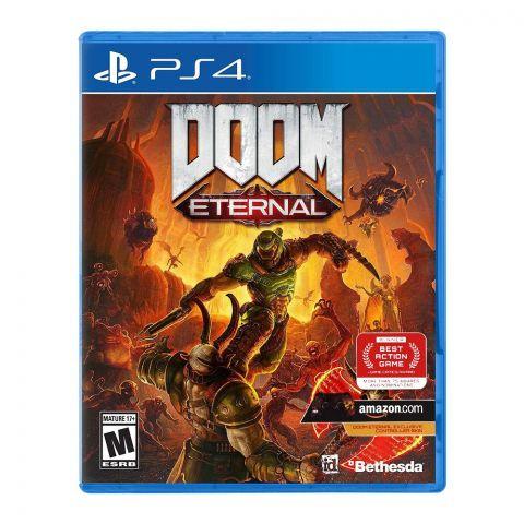 Doom Eternal PlayStation 4 (PS4) Game DVD