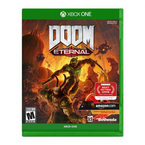Doom Eternal Xbox One Game DVD