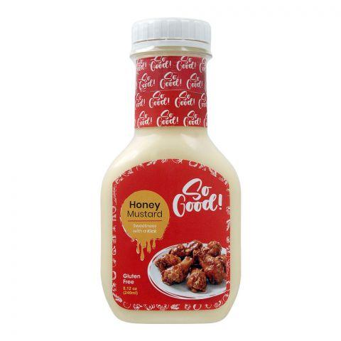 So Good! Honey Mustard, Gluten Free, 240ml