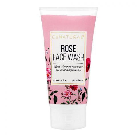 CoNatural Rose Face Wash, 150ml