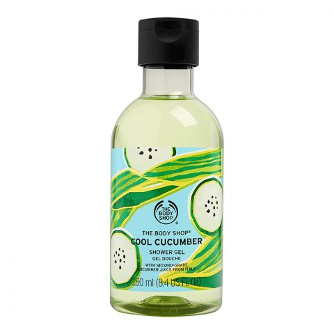 The Body Shop Cool Cucumber Shower Gel, 250ml