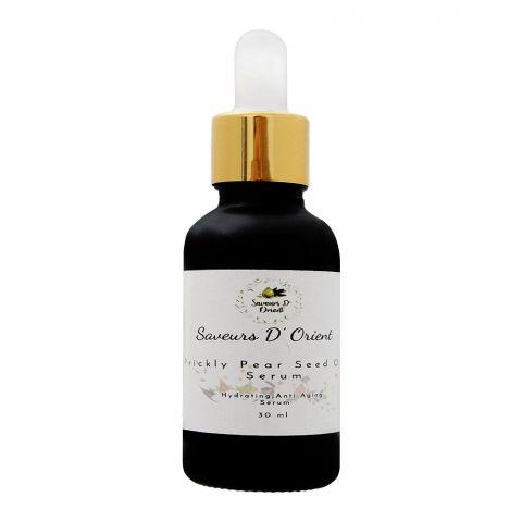 Saveurs D' Orient Prickly Pear Seed Oil Serum, 30ml