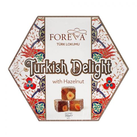 Foreva Turkish Delight With Hazelnut, 250g LOK-6012