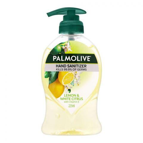 Palmolive Lemon & White Citrus Hand Sanitizer, 225ml