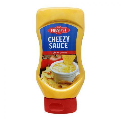 Fresh Street Cheezy Sauce Squeeze, 500ml